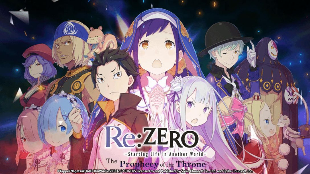 How Re Zero Starting Life In Another World The Prophecy Of The Throne Stays True To The Anime Playstation Blog