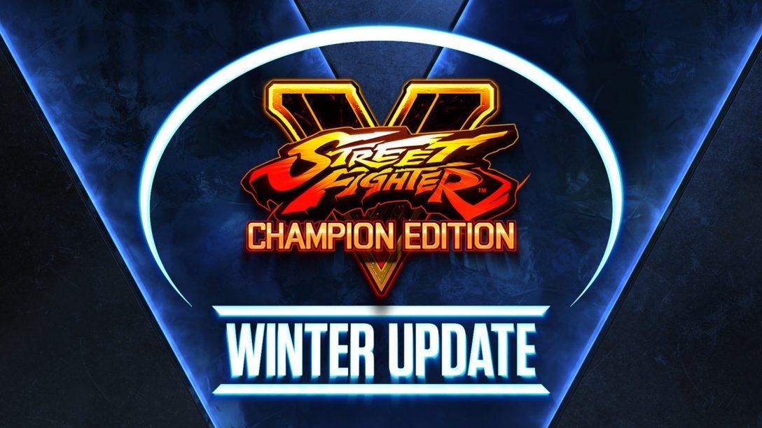 Street Fighter V Season 5 begins February 22