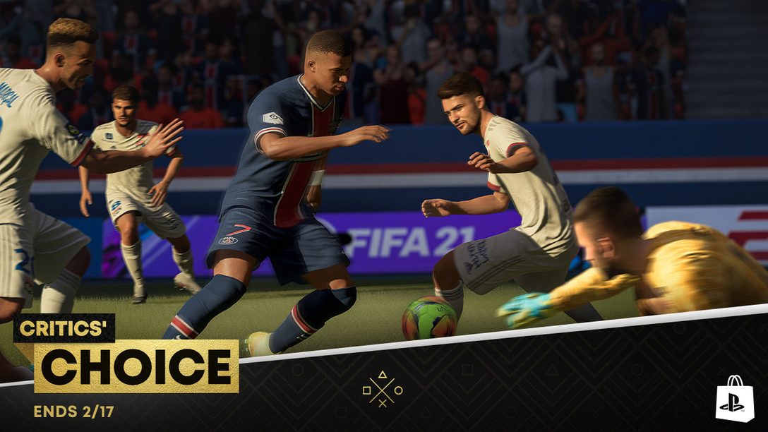 Critics' Choice promotion comes to PlayStation Store