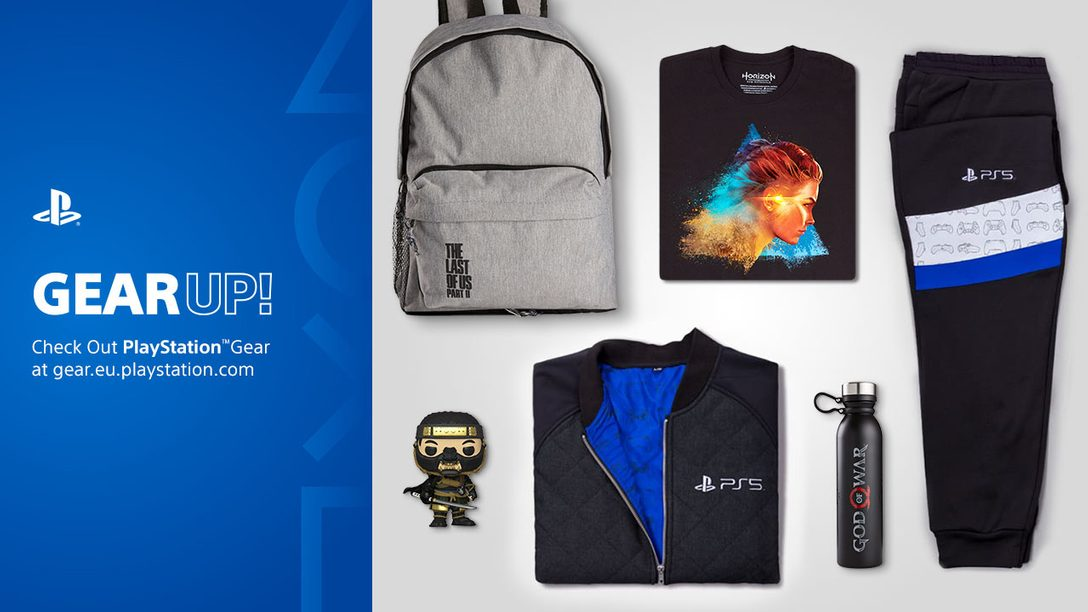 PlayStation Gear Store expands into more countries; New Horizon Raw Materials merchandise range announced