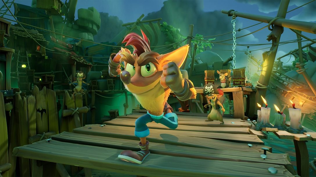 See PS5 enhancements in action with a new Crash Bandicoot 4: It's About Time deep dive
