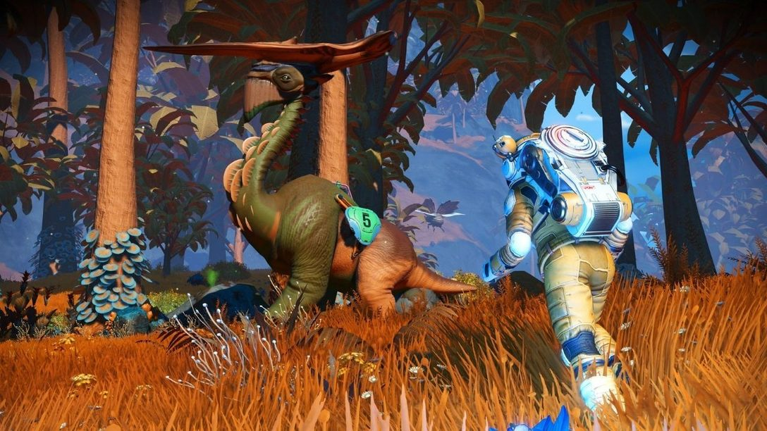 Announcing the latest new update, Companions, for No Man's Sky