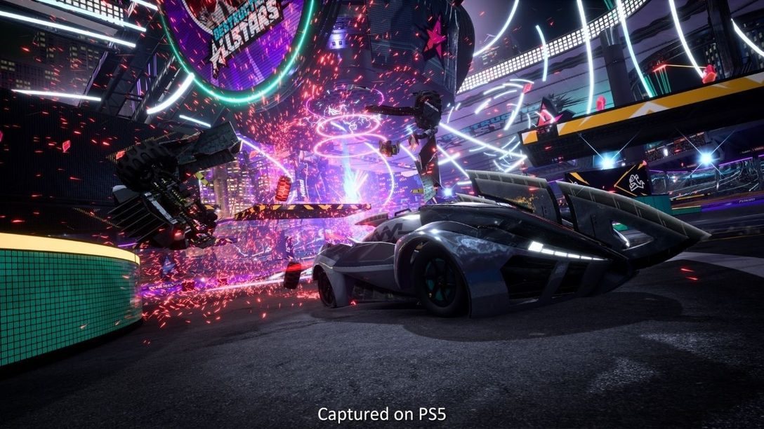 Destruction AllStars interview: the PS5 tech that brought the car brawler to life