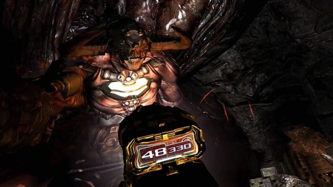How Doom 3's combat experience has been sharpened up for PS VR