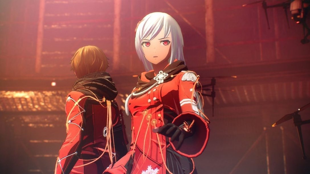 Head into battle with high-tech style in Scarlet Nexus