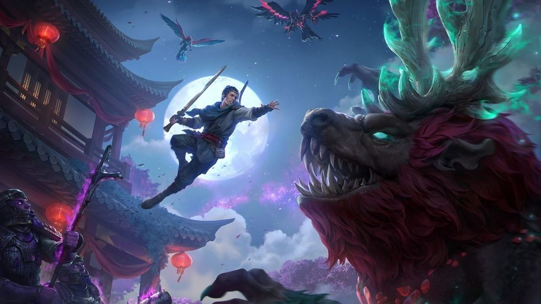 Immortals Fenyx Rising – Myths of the Eastern Realm launches today on PS4 and PS5