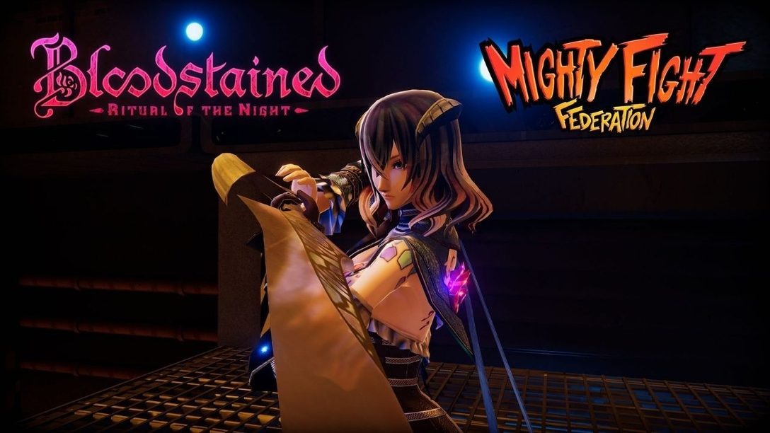 Bloodstained's Miriam joins 3D arena battler Mighty Fight Federation