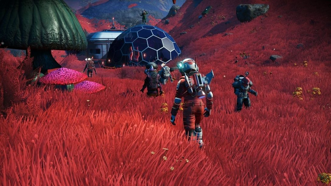 Introducing the Expeditions update for No Man's Sky