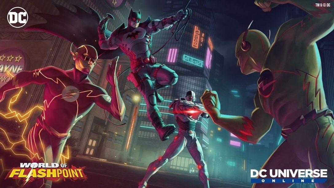 DC Universe Online introduces World of Flashpoint April 15