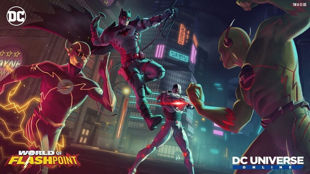 DC Universe Online introduces World of Flashpoint April 15