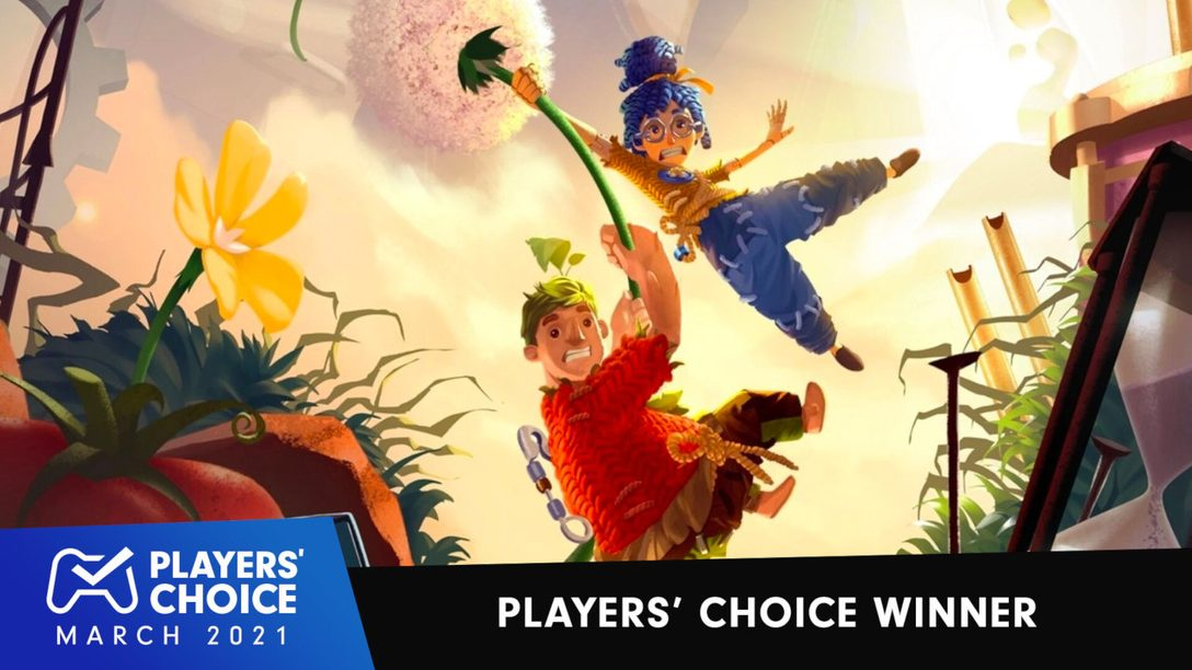 Players' Choice: It Takes Two voted March 2021's best new game