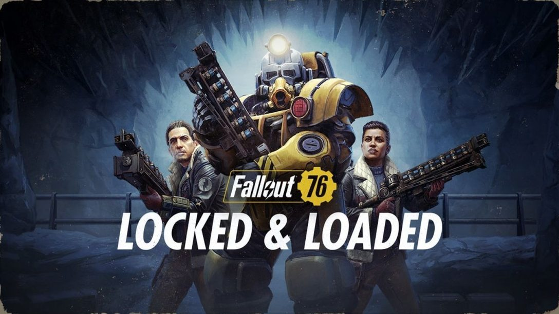 Go behind the scenes of Fallout 76's new Locked & Loaded Update