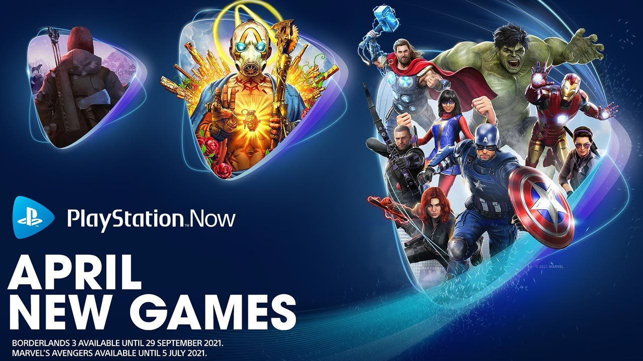 PlayStation Now games for April 2021: Marvel's Avengers, Borderlands 3 and  The Long Dark – PlayStation.Blog