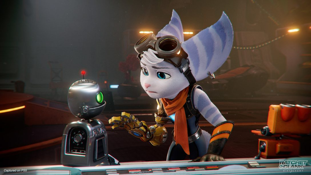 Meet Rivet, the mysterious new protagonist in Ratchet & Clank: Rift Apart