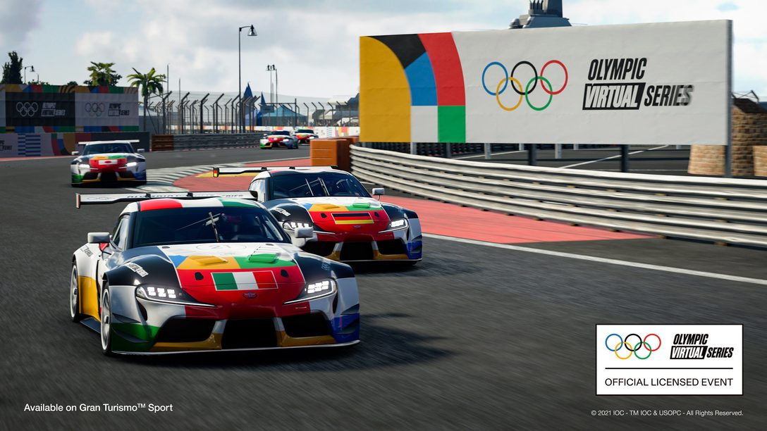 First-ever Olympic Virtual Series Motor Sport Event airs June 23