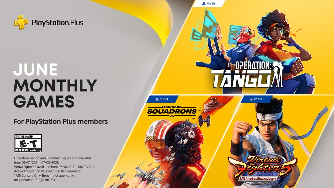PlayStation Plus games for June: Operation: Tango, Virtua Fighter 5 Ultimate Showdown, Star Wars: Squadrons