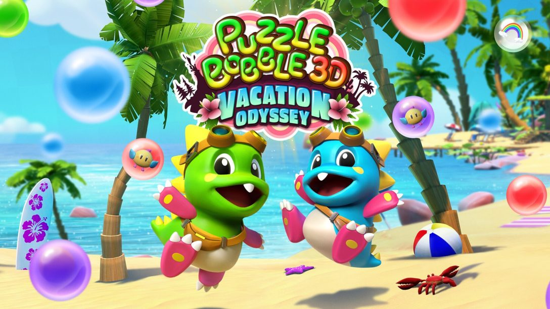 Puzzle Bobble 3D: Vacation Odyssey enters a new dimension on PS VR, PS4, and PS5