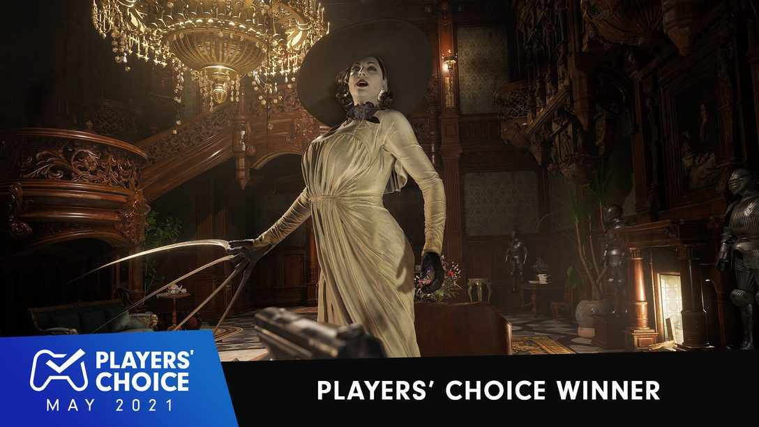 Players' Choice: Resident Evil Village voted May 2021's best new game