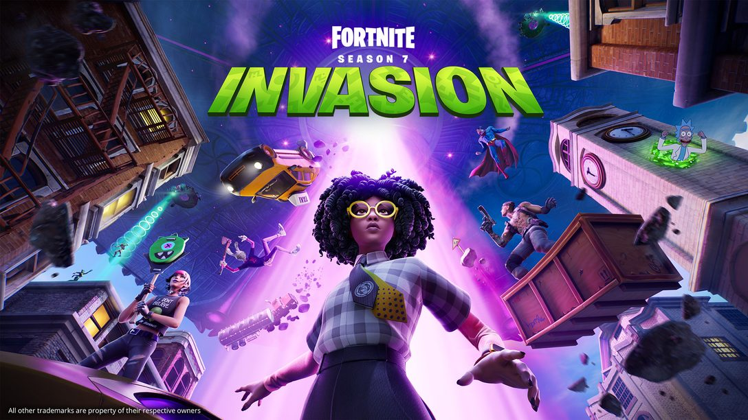 Cosmic chaos descends upon Fortnite in Chapter 2 Season 7: Invasion