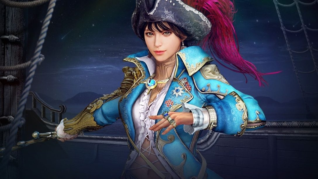 New pirate-mermaid Corsair class comes to Black Desert Online June 29