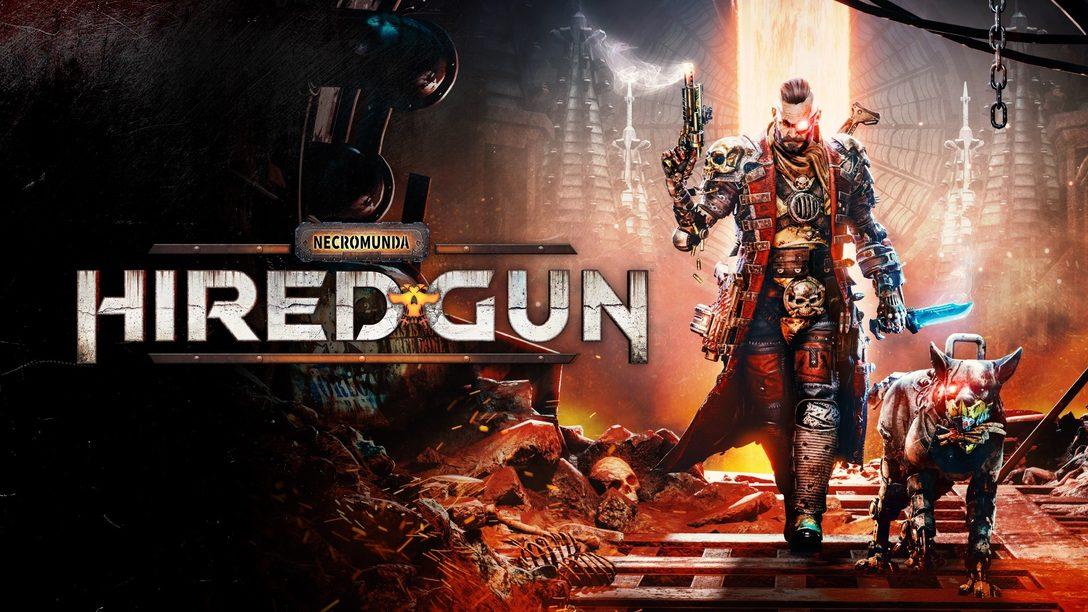 Man's best friend joins you in Necromunda: Hired Gun