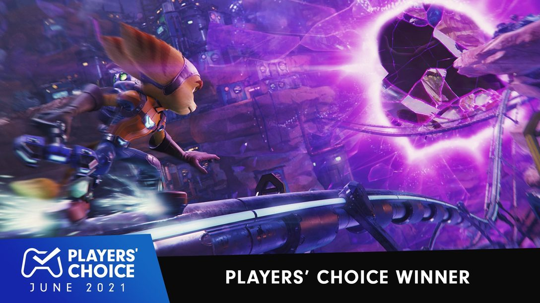 Players' Choice: Ratchet & Clank: Rift Apart voted June 2021's best new game