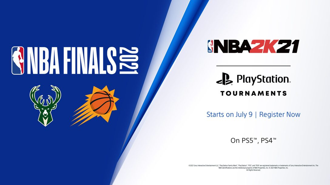 Shoot for glory in the NBA 2K21 PlayStation Tournaments: NBA Finals