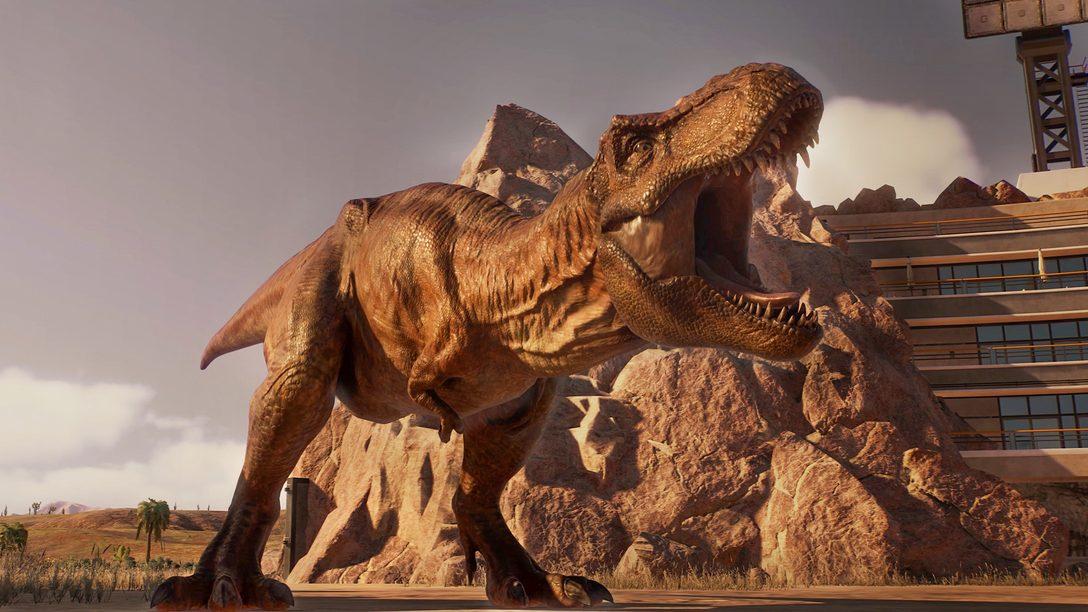 Jurassic World Evolution 2 launches November 9, 2021