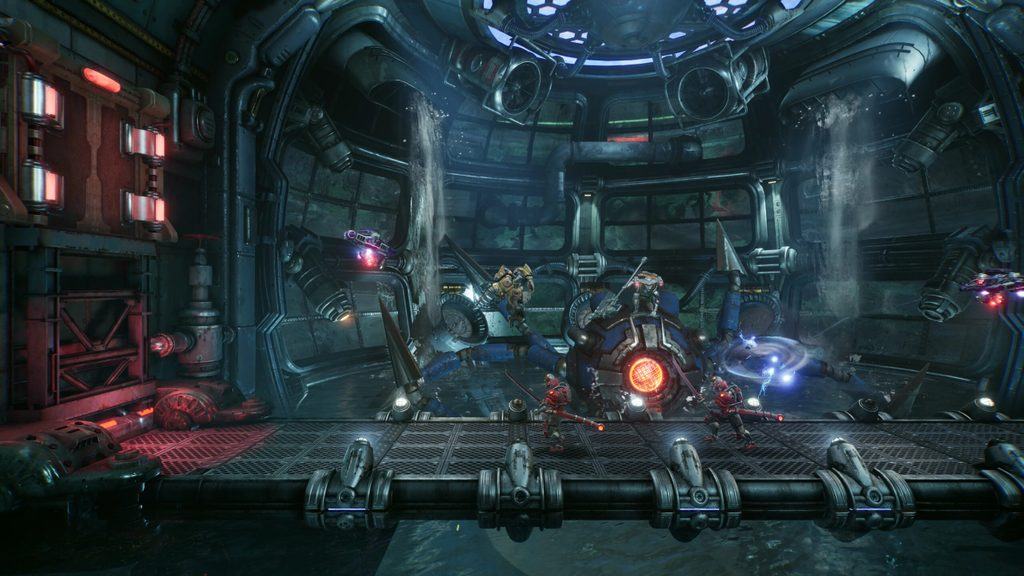 The arcade-style combat in F.I.S.T.: Forged In Shadow Torch – PlayStation.Blog
