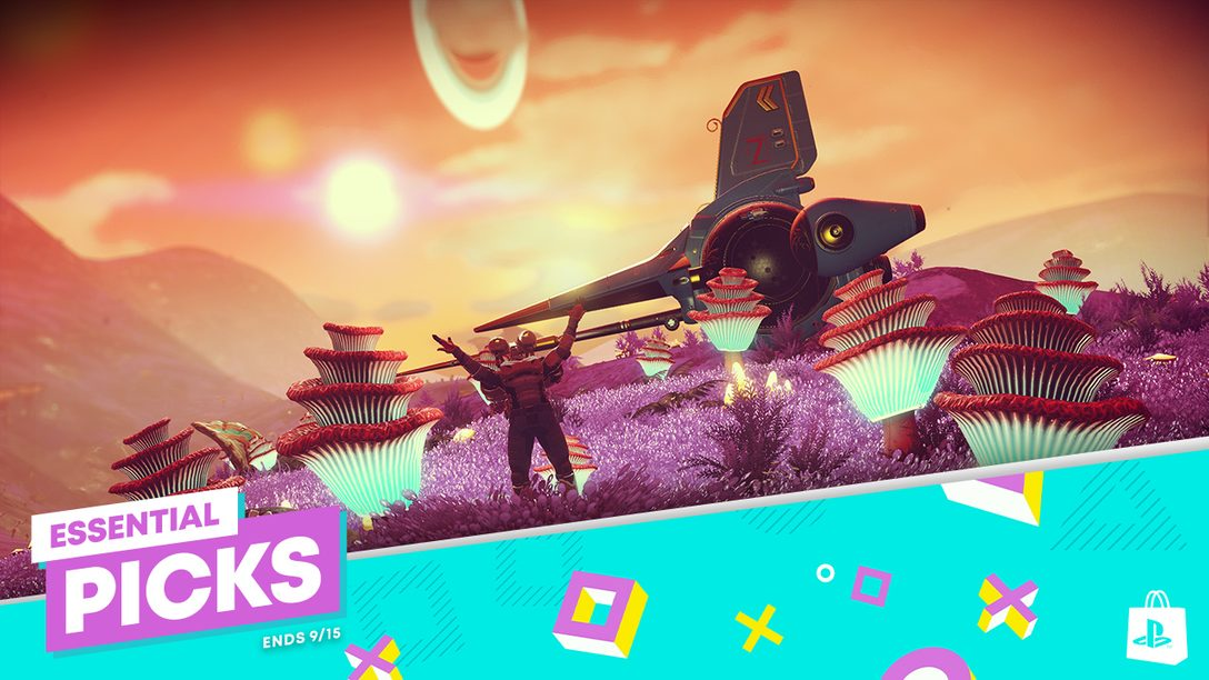 Essential Picks promotion comes to PlayStation Store