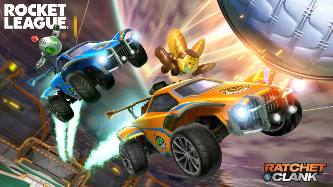 Ratchet & Clank blasts into Rocket League, plus ride into Season 4