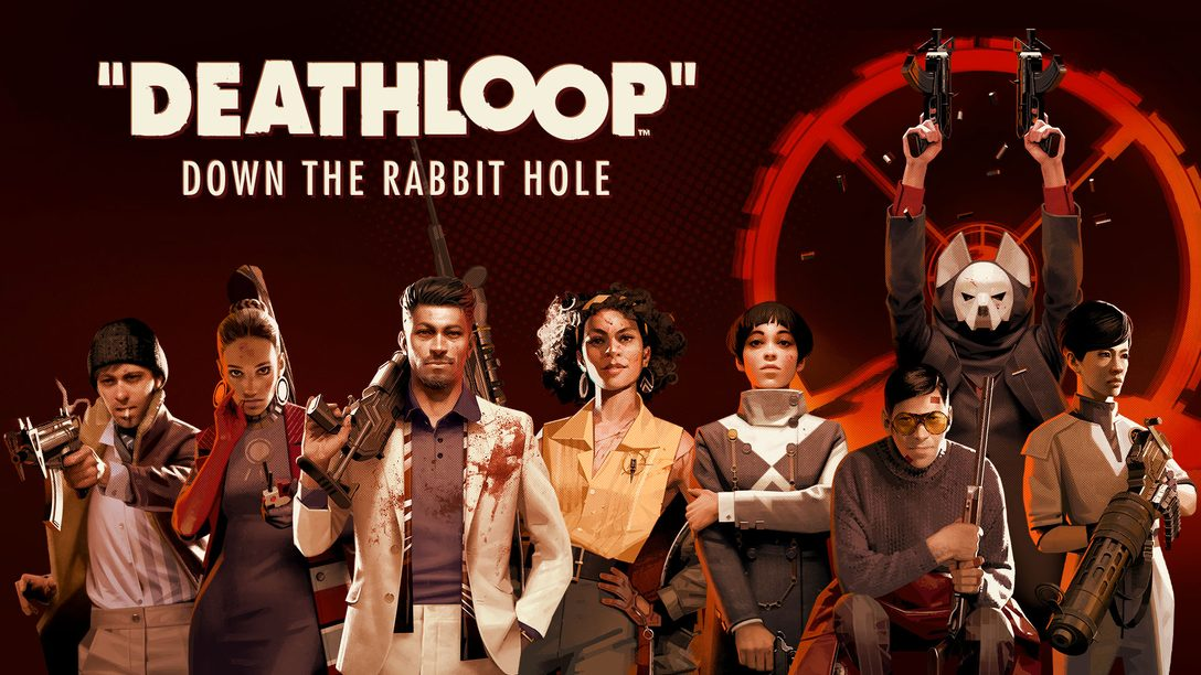 Down the rabbit hole in Deathloop's story trailer