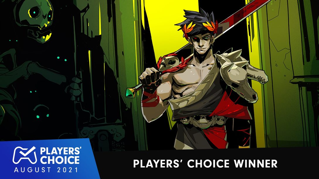 Players' Choice: Hades voted August 2021's best new game