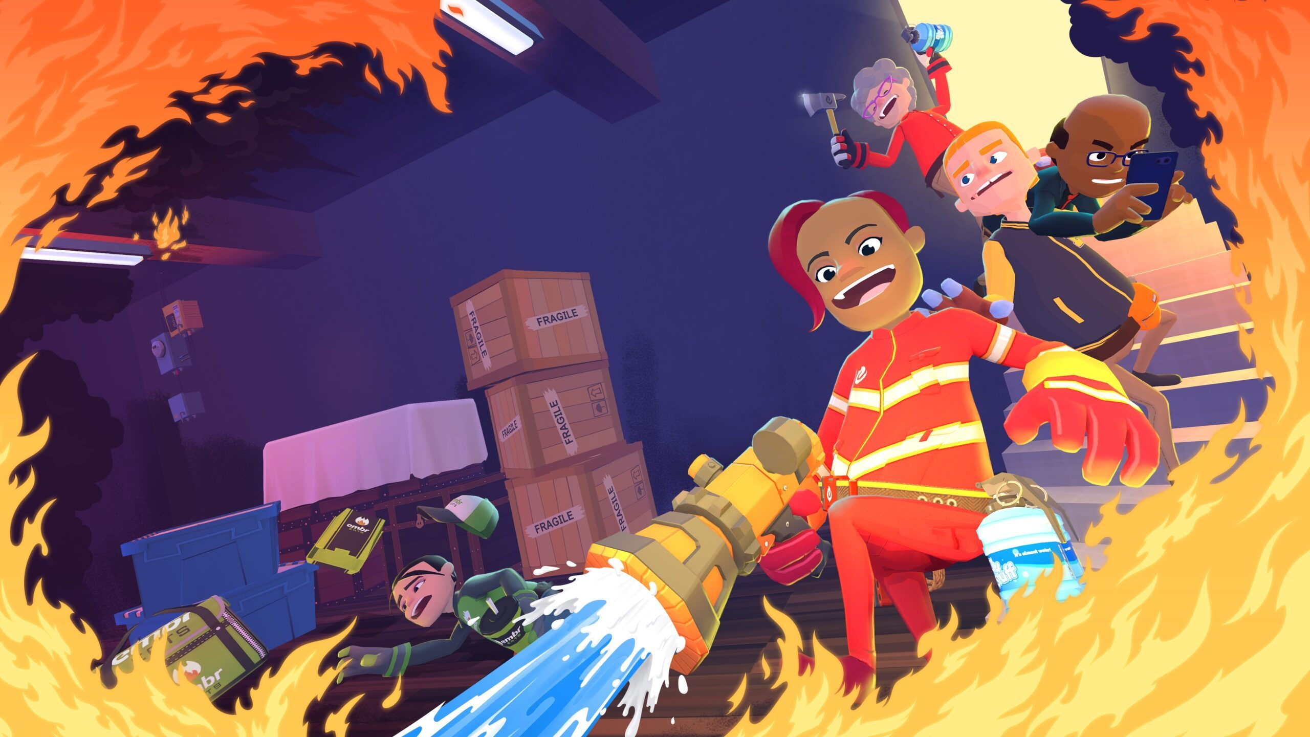 Play firefighters for hire in frantic multiplayer Embr, out tomorrow – PlayStation.Blog - World Tech news