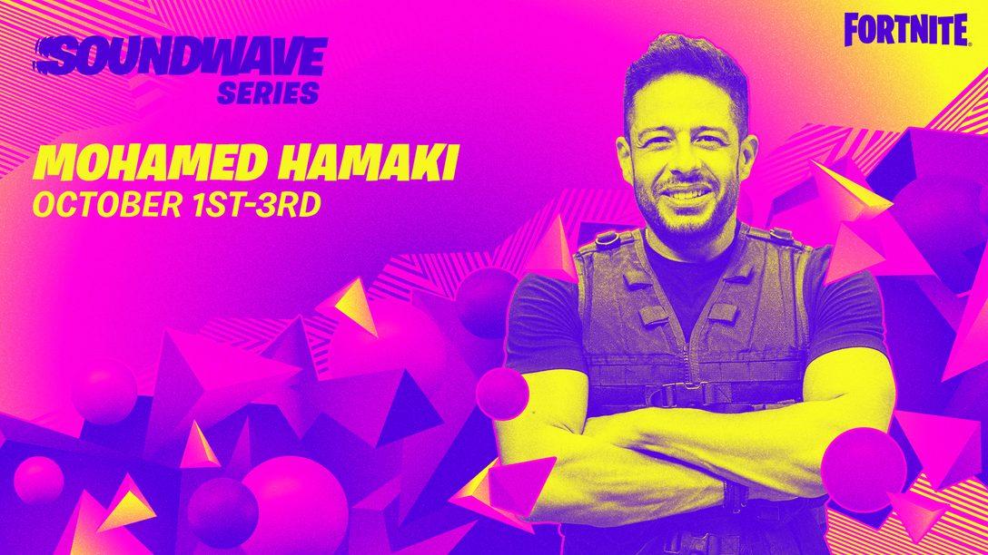Hamaki takes center stage in Fortnite's Soundwave Series