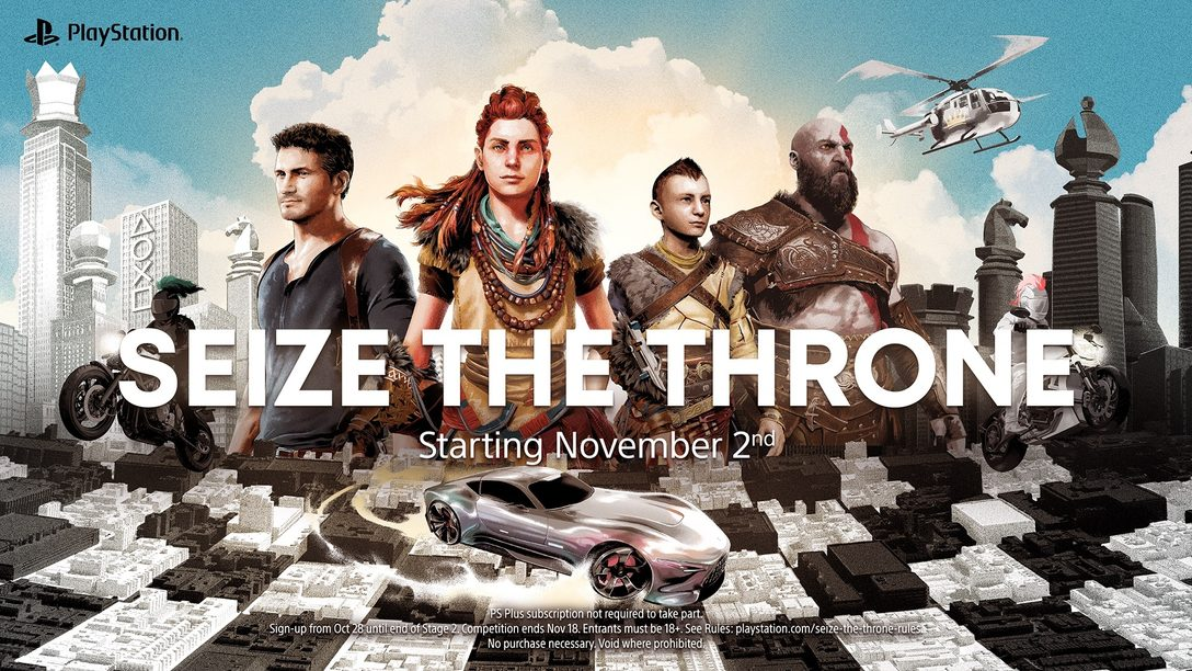 Seize the Throne: Join our latest PlayStation community event for an opportunity to win a PS5 and more