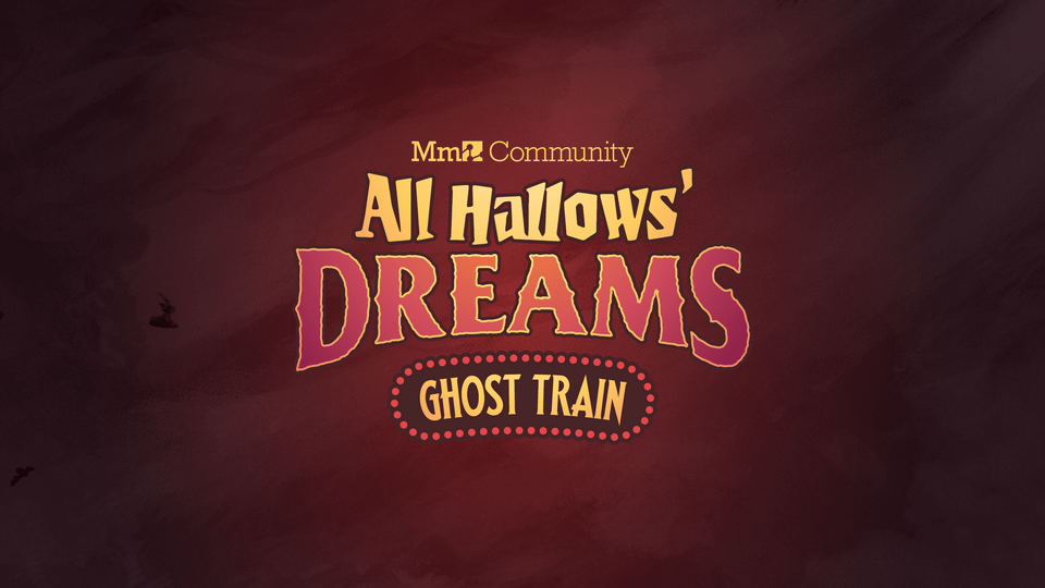 All aboard for coMmunity collaboration All Hallows' Dreams: Ghost Train