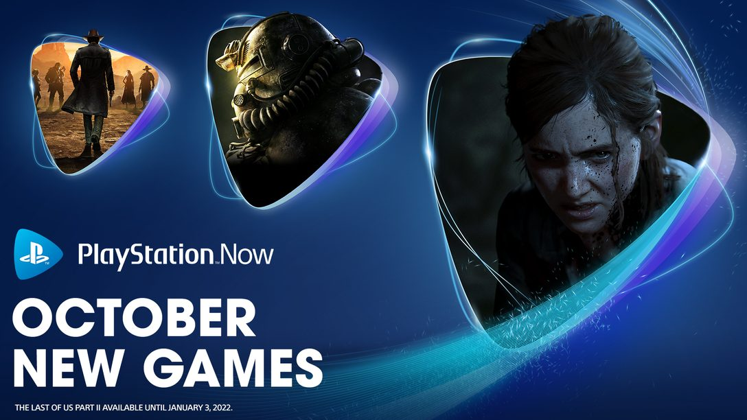 PlayStation Now games October 2021: The Last of Us Part II, Fallout 76, Desperados III