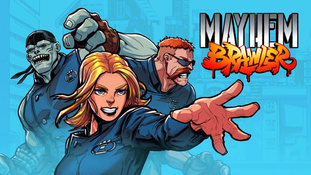 Meet the genre-hopping Mayhem Brawler: trading card game turned side-scroller