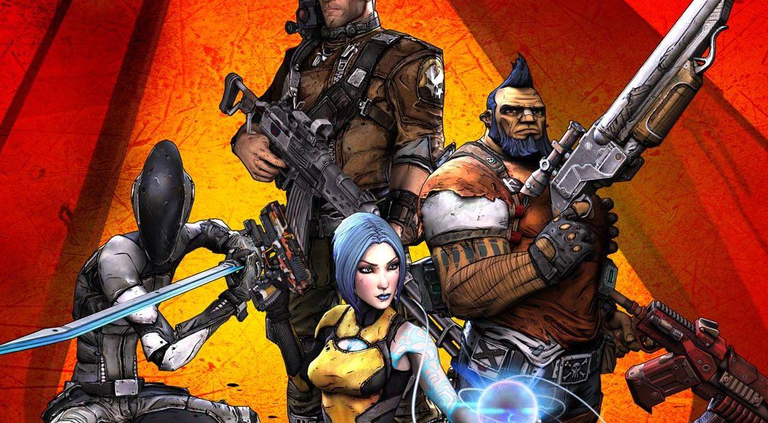 Borderlands 2 sur PS Vita : la date de sortie est confirmée !