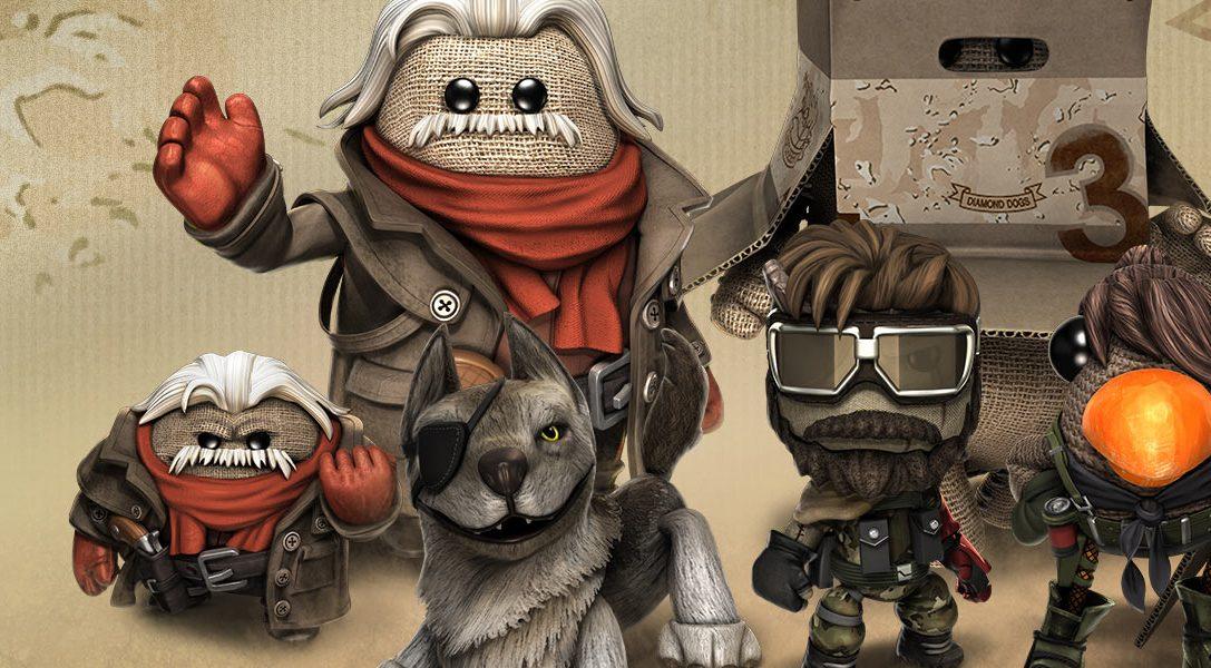 Le pack téléchargeable Metal Gear Solid V: The Phantom Pain arrive cette semaine dans LittleBigPlanet 3.
