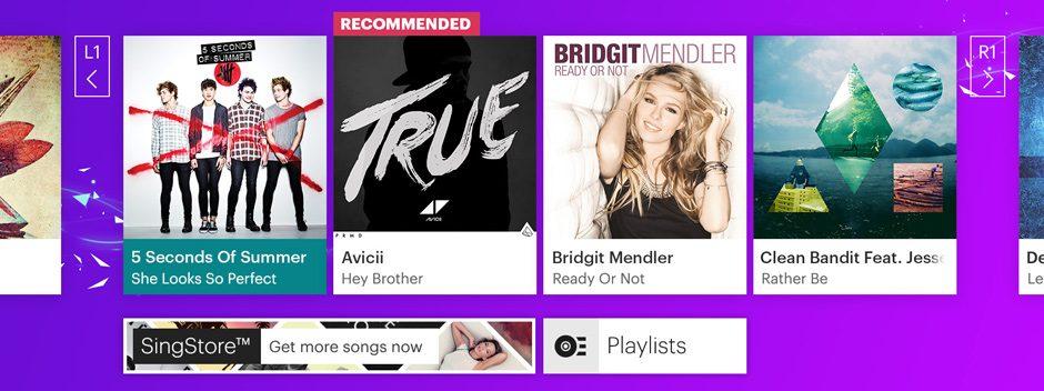 SingStar bénéficie de nouveaux modes, de nouvelles chansons et d'un relooking