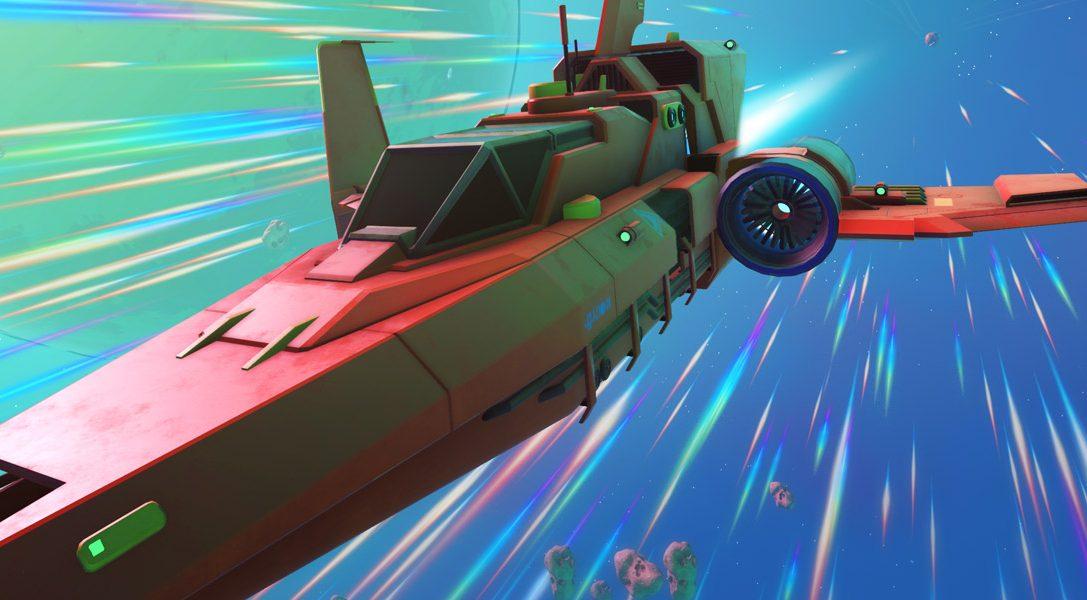 Mise à jour Pionnier de No Man's Sky : nouveaux véhicules, compatibilité PS4 Pro et plus encore