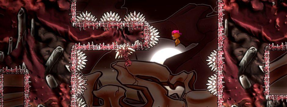 Super Rude Bear Resurrection : le jeu de plate-forme ultra difficile débarque sur PS4 le 2 mai