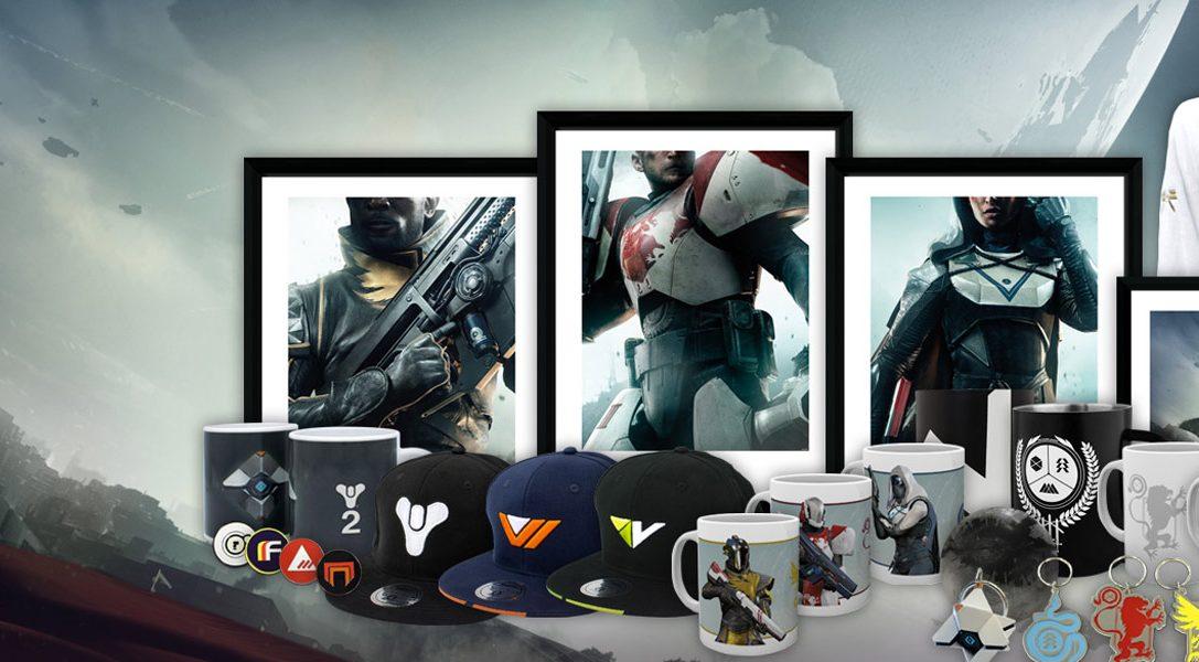 Voici les articles Destiny 2 sur le PlayStation Gear