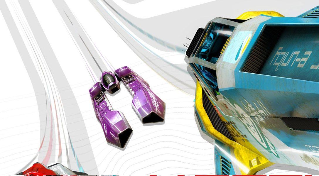 Profitez de WipEout Omega Collection avec PS VR grâce à une mise à jour gratuite