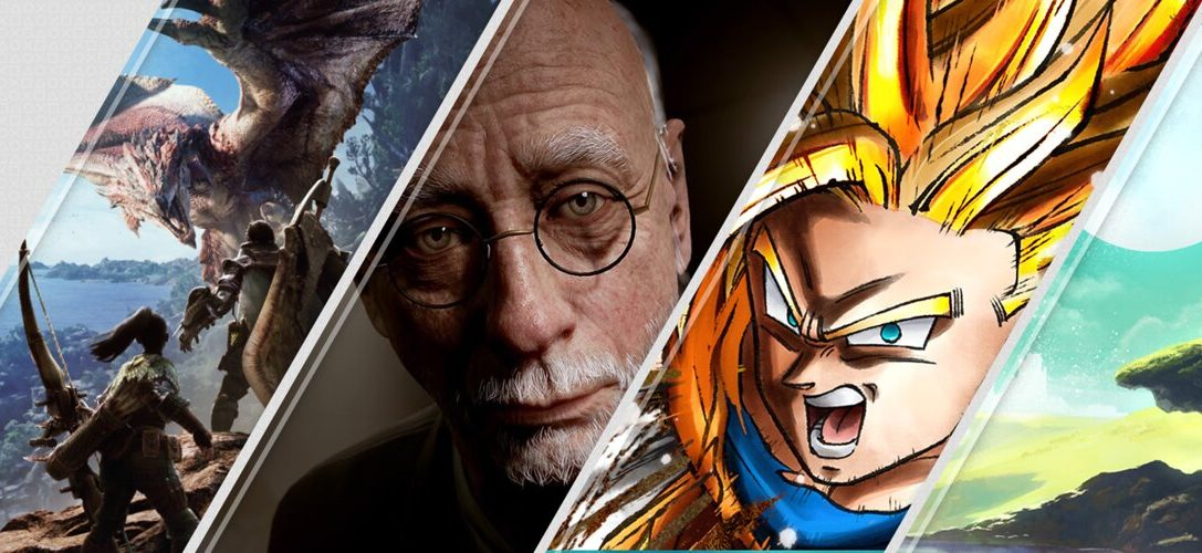 Mise à jour du PlayStation Store : The Inpatient, Monster Hunter: World, Dragon Ball FighterZ…