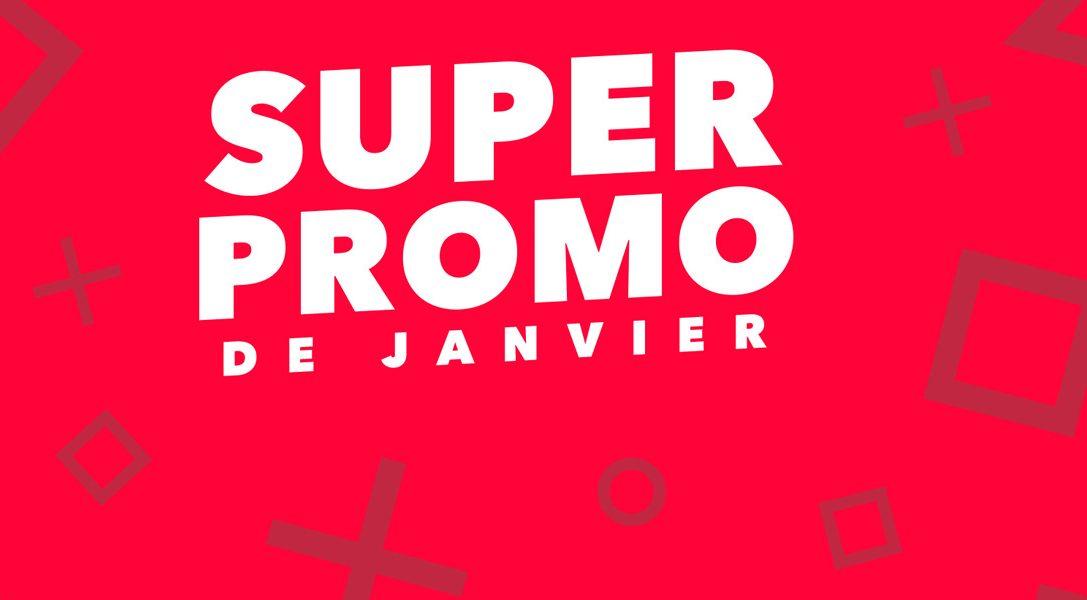 De nouveaux jeux viennent s'ajouter à la Super Promo de janvier !