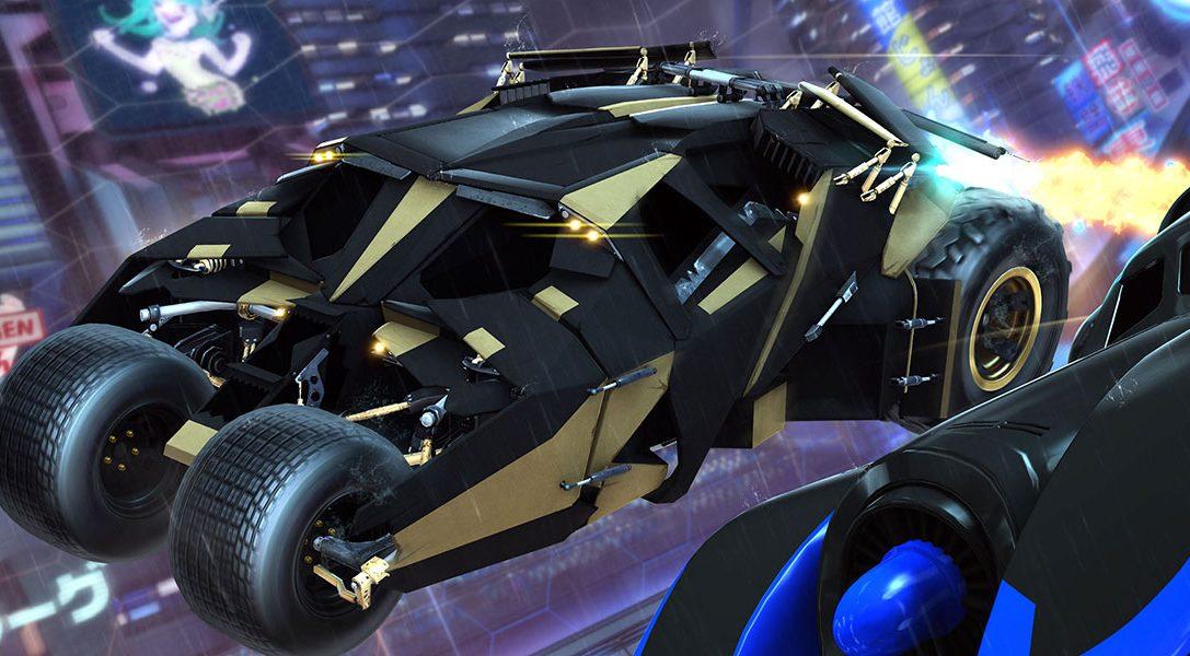 La Ligue des Justiciers rejoint Rocket League sur PS4 le 5 mars