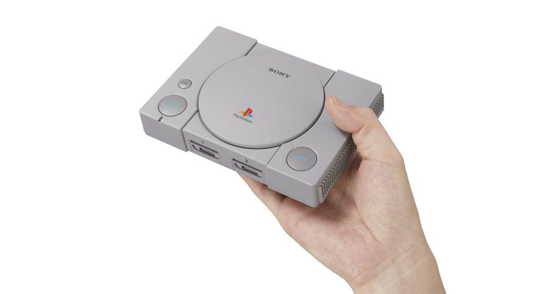 Découvrez la PlayStation Classic avec ses 20 jeux préinstallés